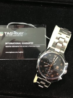 タグホイヤー 腕時計 高価買取 カレラ クロノグラフ