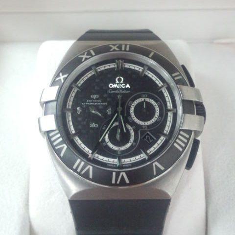 オメガ 腕時計 コンステレーション ダブルイーグル クロノグラフ
