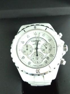 シャネル 腕時計 J12 クロノグラフ 9Pダイヤ H2009