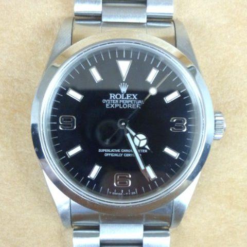 ロレックス 腕時計 エクスプローラーI ブラックアウト