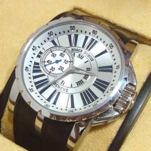 ロジェ・デュブイ 腕時計 エクスカリバー ラバーベルト EX42 77 9 3.7AR