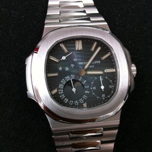 パテックフィリップ 腕時計 ノーチラス プチコンプリケーション 5712/1A-001