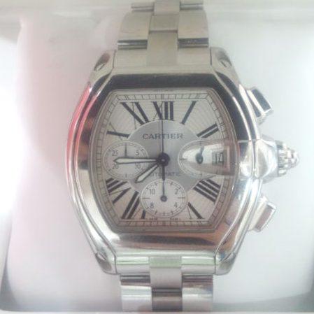 カルティエ 腕時計 ロードスター クロノグラフ W62019X6