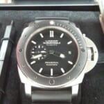 パネライ 腕時計 ルミノール1950 サブマーシブル アマグネティック3デイズ PAM00389