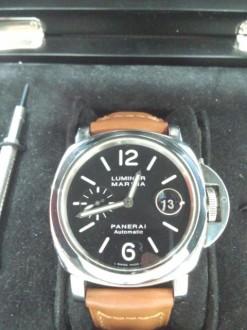 パネライ 腕時計 ルミノール マリーナ PAM00104