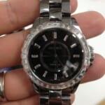 シャネル 腕時計 J12 クロマテック バケットダイヤ 限定生産モデル