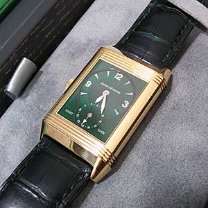 ジャガールクルト 腕時計 レベルソデュオ ナイトアンドデイ