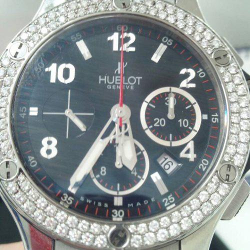 ウブロの時計 ビッグバン(ダイヤベゼル)の買取事例@青山表参道店