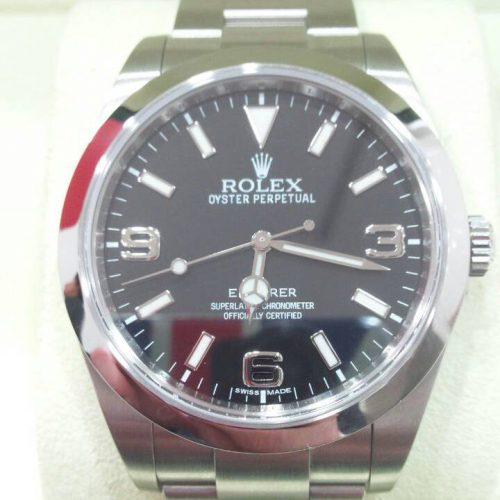ロレックス 腕時計 エクスプローラー1 ブラック