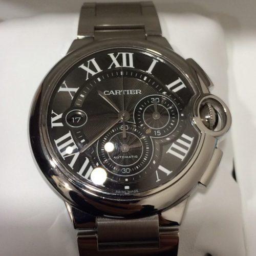 カルティエ 腕時計 バロンブルークロノ
