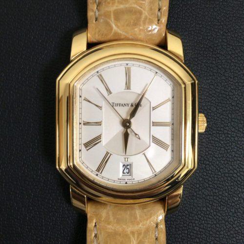 ティファニー 時計 マーククーペ 18KYG クロノメーター