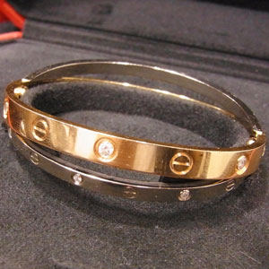 カルティエ 腕時計 ラブブレス ダイヤモンド