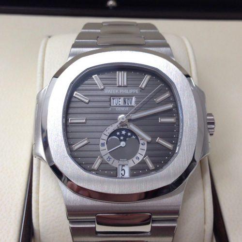 パテックフィリップ 腕時計 ノーチラス アニュアルカレンダー