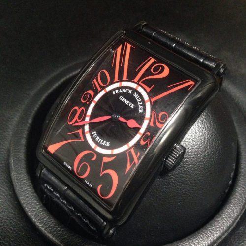 フランクミュラー 腕時計 ロングアイランド ジュビリー K18WG×PVD