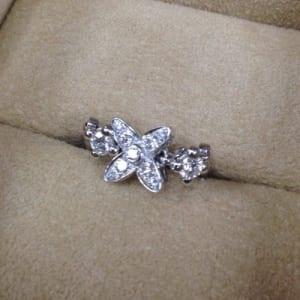 ルイ・ヴィトン モノグラムフラワー ダイヤモンドリングの買取事例@銀座店