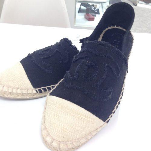 シャネルの靴、エスパドリーユの買取事例