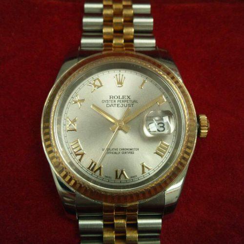 ロレックス 腕時計 デイトジャスト YG×SSコンビ