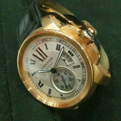 カルティエ 腕時計 カリブルドゥカルティエ K18PG
