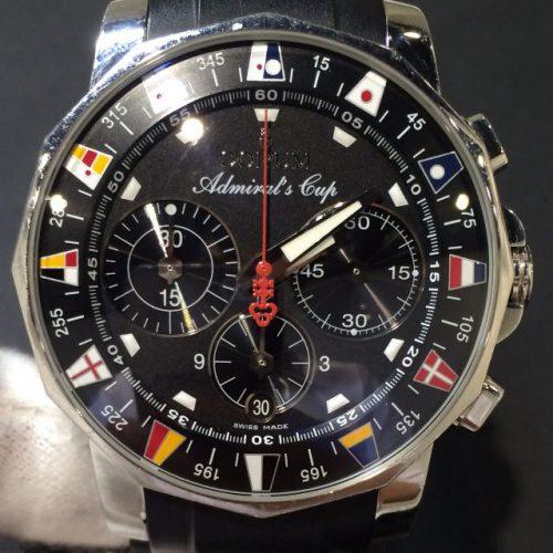 コルム 腕時計 アドミラルズカップ クロノグラフ