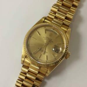 ロレックス 腕時計 デイデイト K18YG 無垢