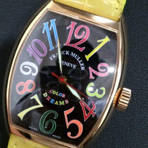 フランクミュラー 腕時計 トノーカーベックス カラードリームズ