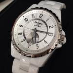 シャネルの腕時計 J12 スモールセコンド(ホワイトセラミック)の買取事例@心斎橋本店