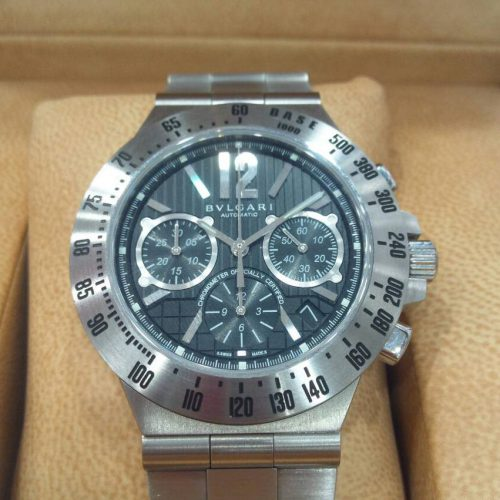ブルガリ 腕時計 ディアゴノクロノグラフ