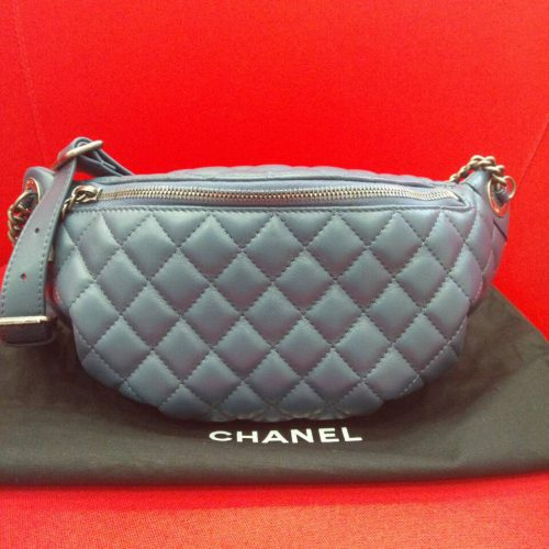 シャネル マトラッセ ウエストバッグの買取事例 ~今、大人気のバッグです~