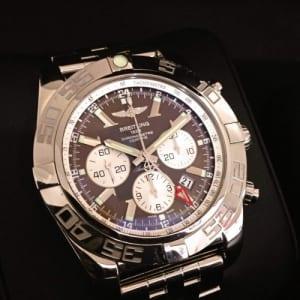 ブライトリング 腕時計 クロノマットGMT ブラック