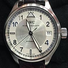 IWC スピットファイア マーク16 XVI 腕時計 人気モデル パイロットウォッチ 高価買取