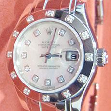 ロレックス 時計 デイトジャスト レディース パールマスター 80319G 特別モデル 希少 高価買取
