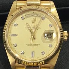 ロレックス 時計 デイデイト 18038A 海外人気 ドレスウォッチ 高額査定