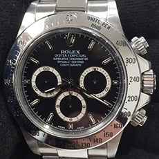 ロレックス 時計 デイトナ 16520 クロノグラフ エルプリメロ 最終品番 A番 P番 高価買取