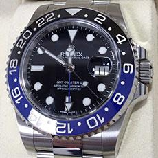 ロレックス 時計 GMTマスター2 116710BLNR 人気モデル 高価買取