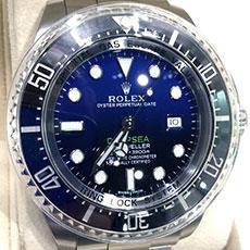 ロレックス 時計 シードゥエラー ディープシー 116660 Dブルー文字盤 人気モデル 高額査定