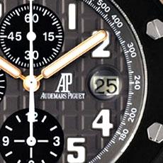 オーデマ・ピゲ 時計 ロイヤルオーク オフショア クロノグラフ 変更部分アップ2 人気モデル 高額査定