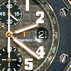 オーデマ・ピゲ 時計 ロイヤルオーク オフショア クロノグラフ 変更部分アップ1 人気モデル 高額査定