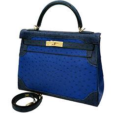 エルメス ハンドバッグ ケリー ギリーズ オーストリッチ 珍しい 希少 高く買取ります