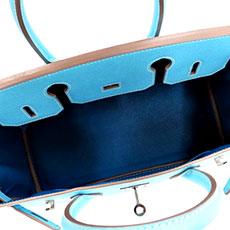 エルメス ハンドバッグ キャンディバーキン セレステ ミコノス バッグ内側 人気 希少 レア品 高価買取