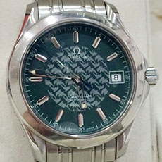 オメガ 腕時計 シーマスター120 ジャック・マイヨール 1998年 限定モデル 高価買取