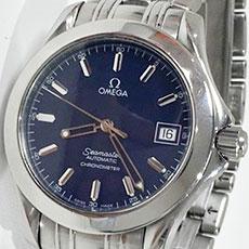 オメガ 腕時計 シーマスター120 ジャック・マイヨール 2001年 限定モデル 高額査定