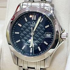 オメガ 腕時計 シーマスター120 ジャック・マイヨール 2002年 限定モデル 高価買取