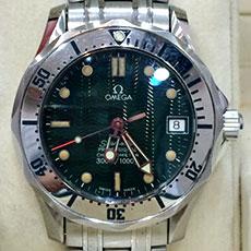 オメガ 腕時計 シーマスター300 ジャック・マイヨール 1996年 限定モデル 高額査定