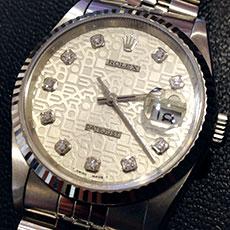 ロレックス 時計 デイトジャスト コンピューター文字盤 ホリコン 人気モデル 高価買取