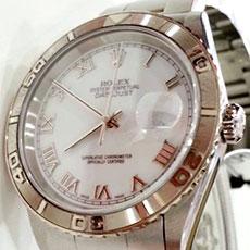ロレックス 時計 デイトジャスト サンダーバード 人気モデル 高額査定