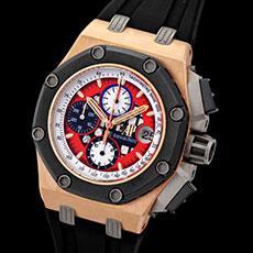オーデマ・ピゲ 時計 ロイヤルオーク オフショア クロノグラフ 限定モデル ルーベンス・バリチェロ 希少 レア 26284RO.OO.D002CR.01 高価買取