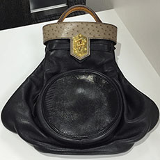 hermes-bag-smack-black-mousse-natural-gulliver-ostrich-lizard