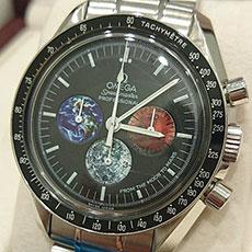 オメガ 時計 スピードマスター プロフェッショナル 限定 フロム ザ ムーン トゥ マーズ 人気 高価買取