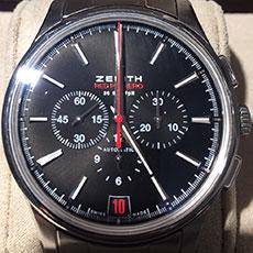 ゼニス 時計 キャプテン 36,000VpH レッドプリメロ 03.2115.400 限定 買取強化
