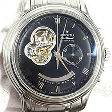 ゼニス 時計 グランド クロノマスター XXTオープン エル・プリメロ 03.1260.4021 人気モデル 高価買取